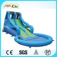 CILE Slide Type and PVC Material Inflatable with Pool