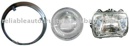 Headlight Assembly For Hero Honda, Bajaj, LML Vespa, Kinetic, TVS Suzuki, Yamaha