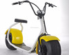 2017 citycoco 1000w 60v 12ah electric scooter with ce/rohs