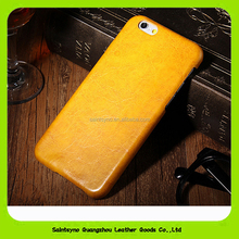 15114 Highly vintage colorful full grain leather phone protector cover case for iPhone Samsung