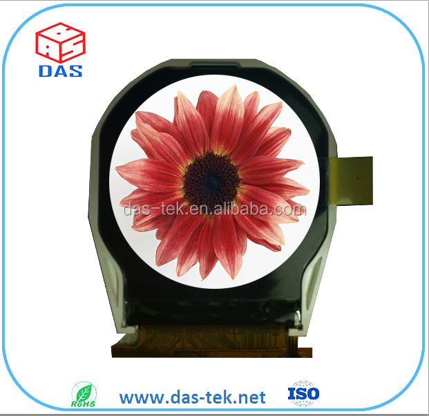 round tft 2.1 inch lcd screen