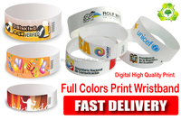 wristband for inkjet and laser