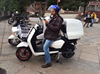 2000W cargo scooter with 60km/h speed and 150kms range STMT-D128