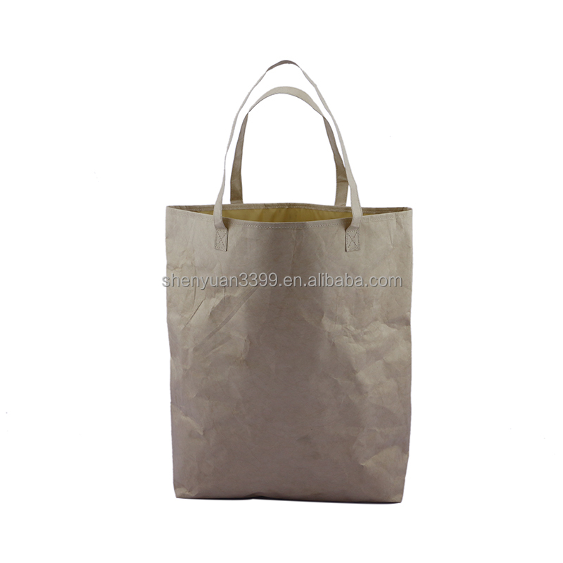 alibaba china manufacturer new products for 2016 Enviromental tyvek Paper shopping bag waterproof durable tote bag