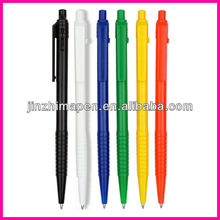 Beside the jump ball pen /plastic disposable ballpoint pen