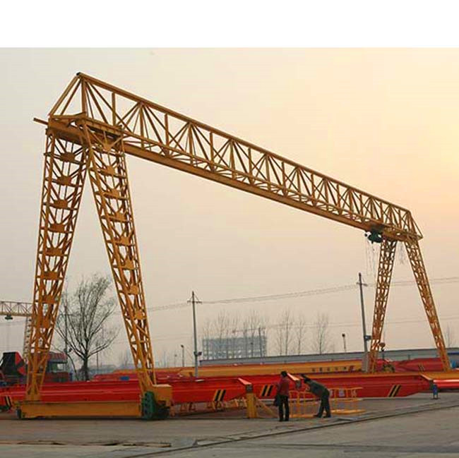 Wind Resistance Single Girder Electric Hoist Truss Frame Gantry Crane