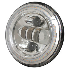 "Professional design high quality 7"" round 50W led headlight for JEEP Wrangler JK 2007+"