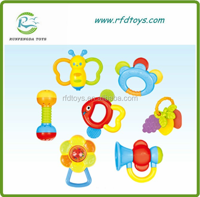 Baby musical hand toy baby rattle teeth rattle toys