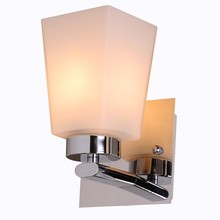 glass decorative wall mount folding wall bed lamp