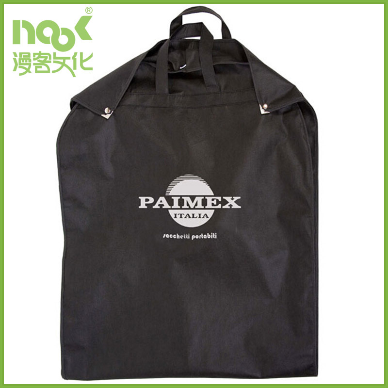 Garment non woven bag keep suit clean dry with buckles and handles