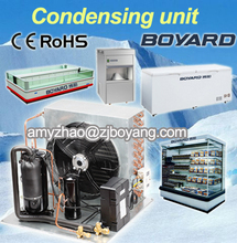 Boyard Food freezer with copeland condensing unit refrigeration parts for food processing machine
