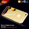 Luxury Aluminum Ultra-thin Mirror Metal Case Cover for iPhone 5 5s 6 6s Plus