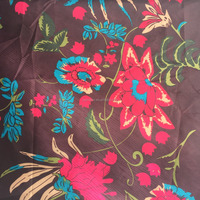 printed pongee fabric 100%polyester waterproof for jacket garments
