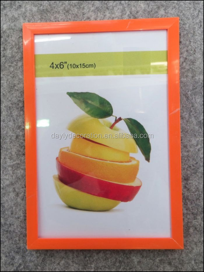 Orange color beautiful girl sex photo frame hot selling picture frame/beautiful frame