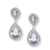 RAKOL E091 Simple Zirconia Stone Zircon CZ Stud Ear Rings Brass Drop Studs Earrings Jewelry Earring