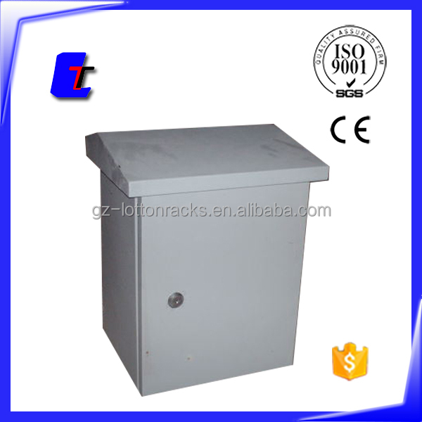 distribution IP65 protection level material outdoor metal enclosure box