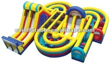 inflatable obstacle maze/inflatable course for adult/cheap inflatable toy for kidson sale