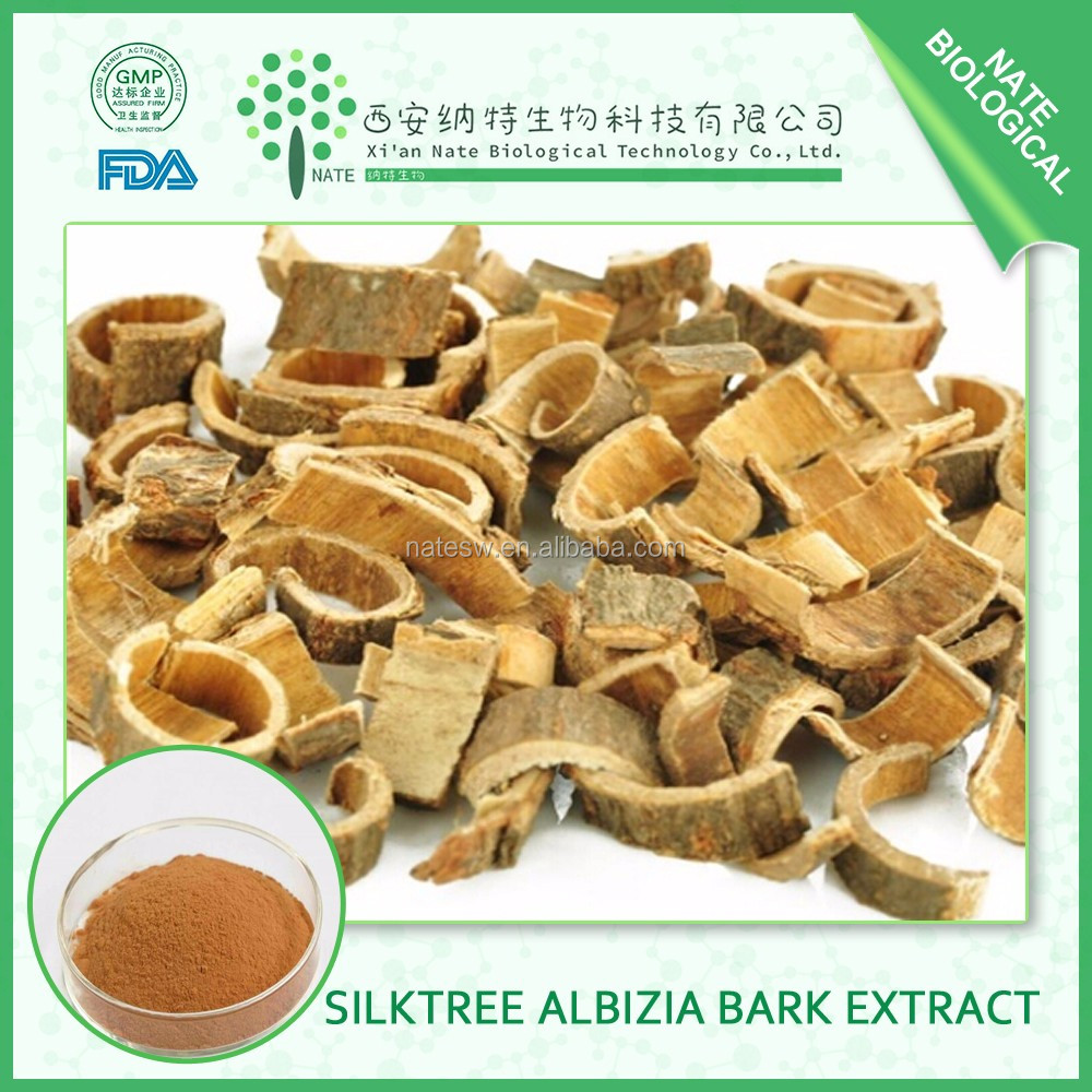 Factory supply Natural Herbal Extract Silktree Albizia Bark 10:1 by TLC in bulk