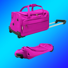 Foldable outdoor Sports Gym gig rolling travel Bag, Flight wheeled Holdall Bag,collapsible Trolley Duffle Wheelie cargo kit bag