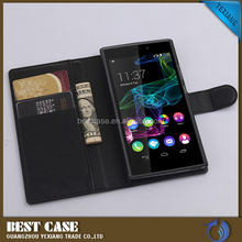 Factory Low Price Lichee Pattern Leather Flip Cover Case For Infinix Note 2 X600