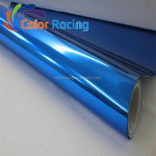 High Qulity Decoration Car Vinyl Wrap Sticker Chrome Blue Vinyl Car Wrap Roll