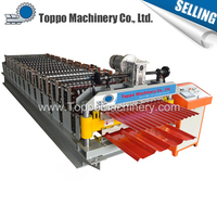 Galvanized Roof Panel Manufacturer Double Roll Forming Machine