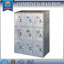 YOOBOX YL00-S steel powder coating apartment mailbox