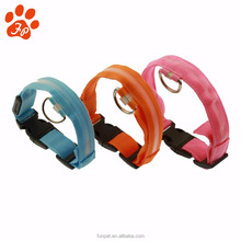 Wholesale Custom Light up Dog Collar LED for dogs