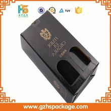 Wholesale Printing High Quality Wine Bottle Carrier 2 Cardboard Packaging Box