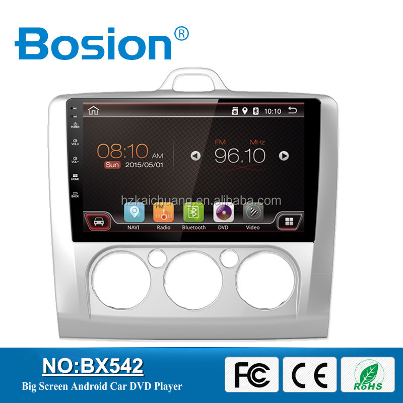 9inch Bosion Factory OEM Android Car DVD Special Car Navigation System Multimedia System with 3G and Bluetooth