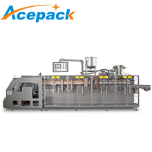 center spout pouch or bag forming juice filling bag packing machine for liquid
