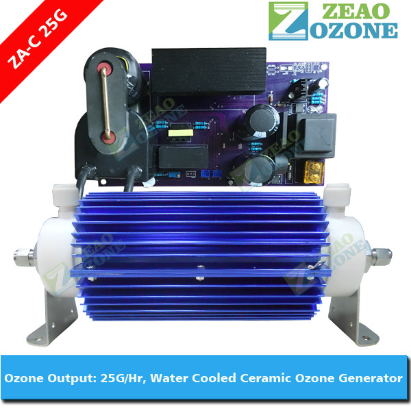 ozone fruit and vegetable washer parts 25g/h ceramic ozone generator tube