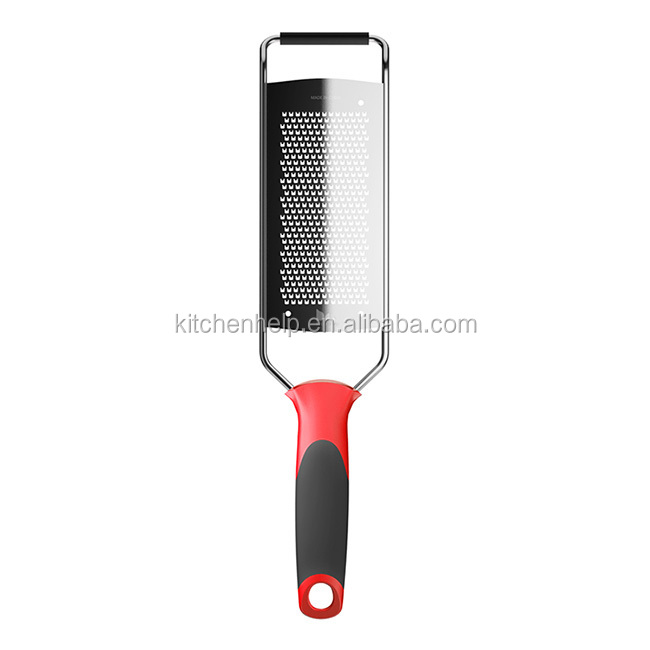 ABS+TPR+S/S 30.7*7.4*1.3 Kitchen tools stainless steel fruit&vegetable grater/flat grater