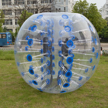 Outdoor inflatable bubble football, kids funny bubble bumper ball hot sale D5007