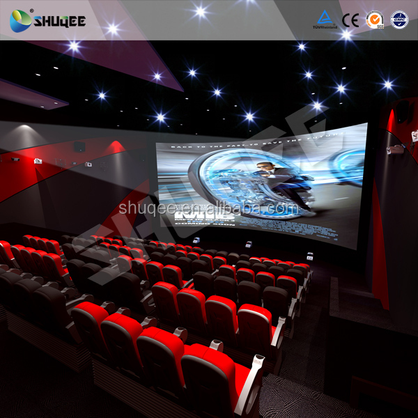 mobile mini 7d theater with gun shoot game and motion seats,playing 3d movies