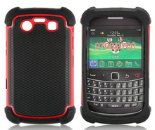 Alibaba express TPU+PC 2 in 1 dual layer case for blackberry 9700 free sample cell phone case