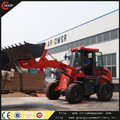 2015 hot sale 1.6ton hydraulic front wheel loader with snow implements