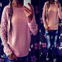 Wholesale Fitness Clothing Sweater Design Knitted Sweater Women