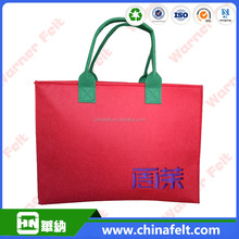 Chinese wholesale felt portable bag handbag
