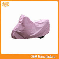 Professional 190T polyester rain cover for bike motorcycle at factory price