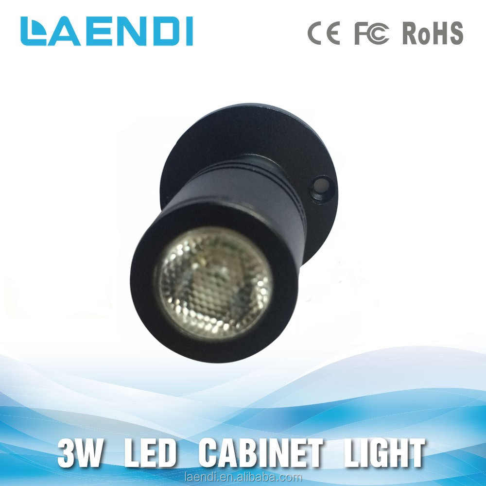 high bright chip 100-240V 12V showcase led light 3w