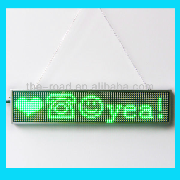 2014 Business Ideas Electronic Advertising LED Banner