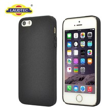 hard matte PC cover for iPhone 5 black case