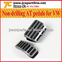 High quality aluminum alloy Non-drilling AT pedals for VW POLO/Lavida/Bora/Fabia car gas pedals