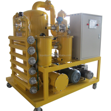 Fully Automatic High Vacuum Transformer Oil Purifier Zyd-100