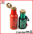 Vacuum Flask Double Wall Stainless Steel Insulated Vacuum Sports Bottle Flip Top Lid with Loop String