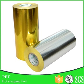 12micron*64cm*120m Rolls Hot Stamping Foil for Paper
