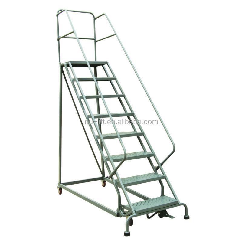 Industrial Steel Rolling Ladders Rl Series Buy Steel