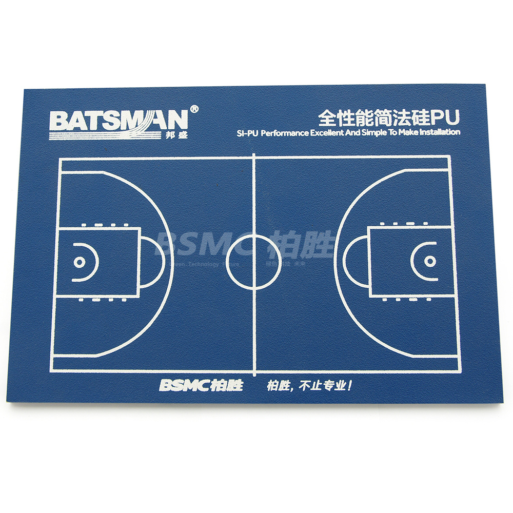 Eco-Friendly Outdoor Full Wet Poured Silicon PU Basketball Sports Court Surface Flooring Material Prices