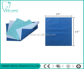 Dental chair headrest protect paper plastic cover